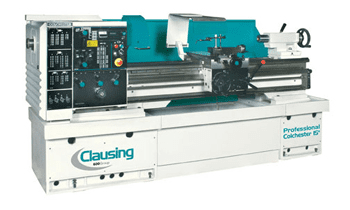 Clausing Industrial Variable Speed Lathe 13-15