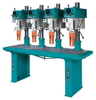 Clausing Industrial Multi-Spindle Drill Press