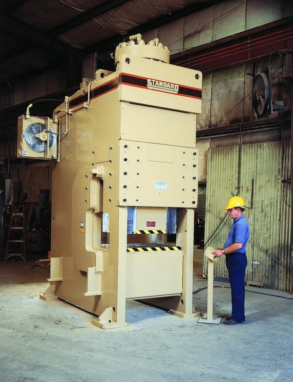 Standard Industrial DCSS Straight Side Press