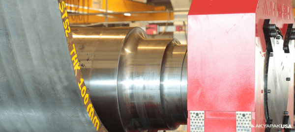 Akyapak AHV 3 Roll Variable Geometry Plate Rolls